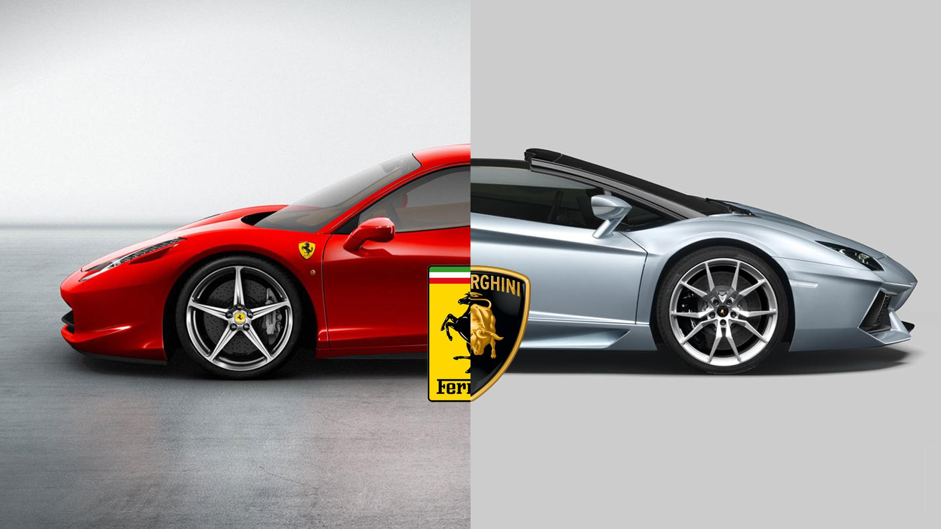 The History Of Lamborghini And Ferrari