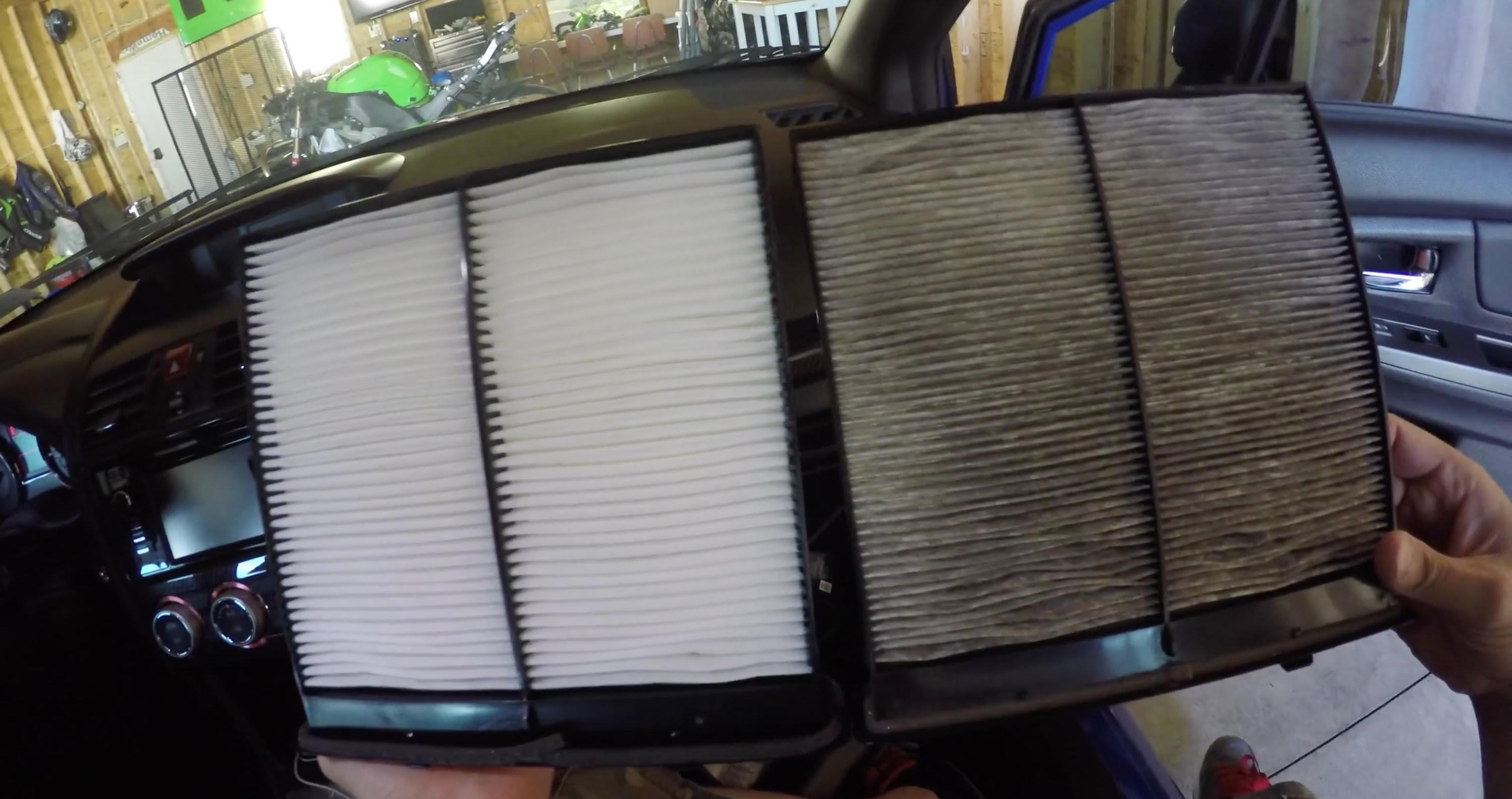 The Difference Between A Cabin Air Filter And An Fiix Subaru Forester Fuel Location