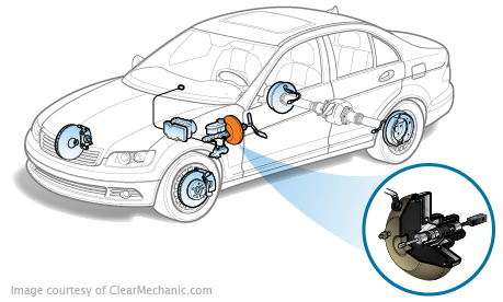Brake Booster Vacuum Sensor Replacement