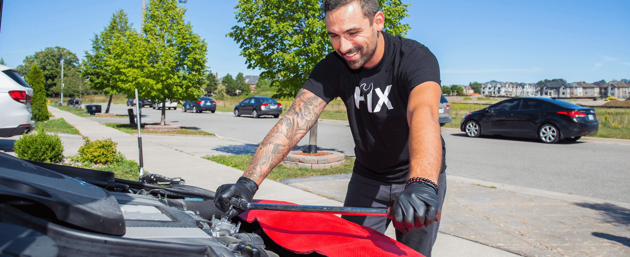 Car Is Leaking Fluids Inspection